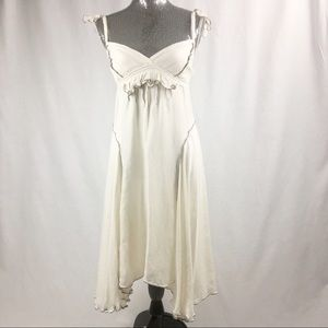 Max Studio off White Linen Dress